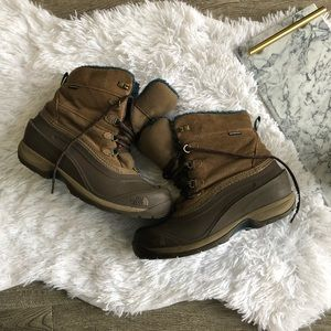north face rubber chilkat snow boots